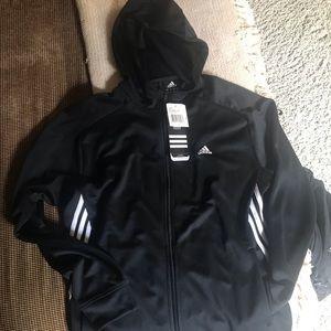 Men's Adidas Large competition jacket